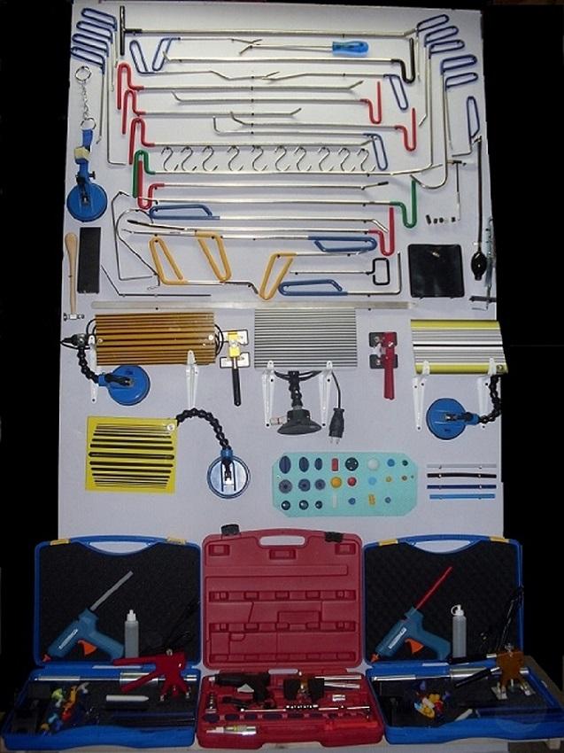 Prodajem profesionalnu autolimarsku opremu za ispravljanje limarije vakumom