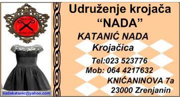 Krojacki salon NADA sivenje po meri,Zrenjanin