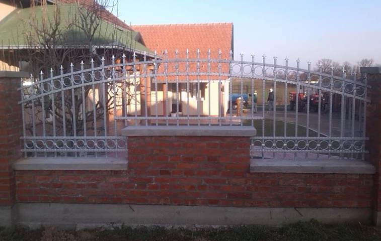Oglas  KOVANE OGRADE OKOV  proizvodnja svih vrsta kovanih ograda