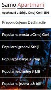 apartmani, srbija, crna gora, bih