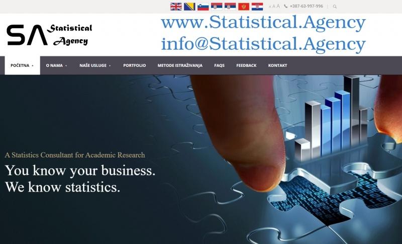 Rješavamo statističke probleme u SPSS-u SPSS Nudimo statističku analizu, obradu podataka za naučne i druge radove. Instrukcije i obrada podataka iz SP