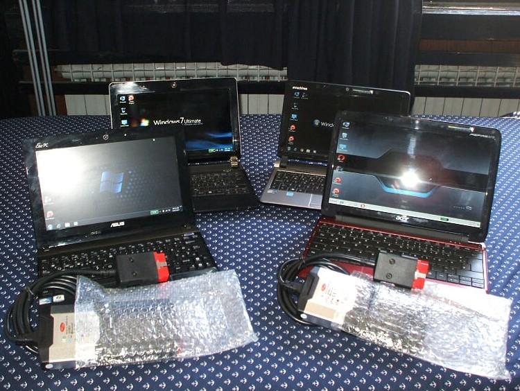 Laptop+Nova Autodijagnostika Delphi+Autdata