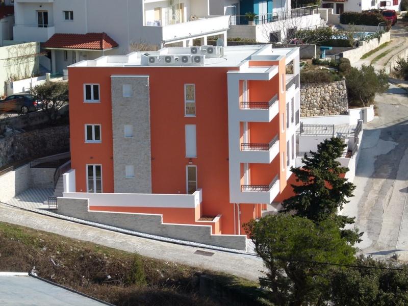 MAKARSKA-KRVAVICA, Stanovi u novogradnji od 94 -125 m2