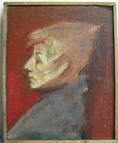 Umjetnicka slika stara 40 godina