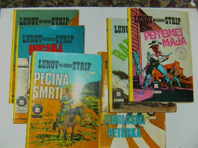Prodaja stripova-Zlatna serija i Lunov Magnus strip