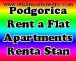 Renta Stanovi Podgorica